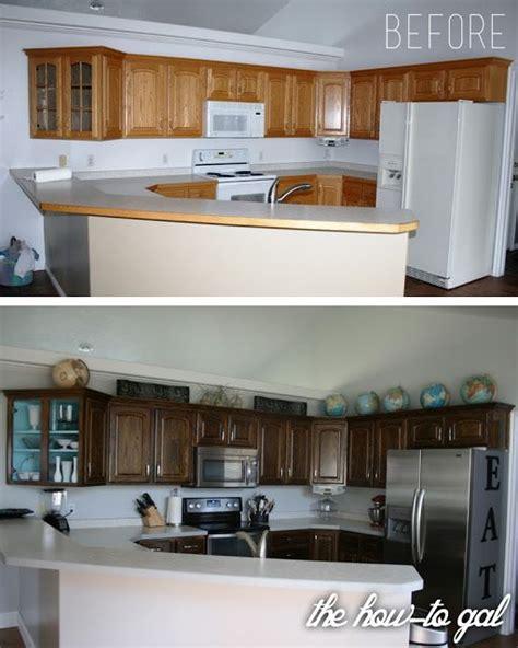 Restaining Kitchen Cabinets Grey by Best 25 Walnut Stain Ideas On