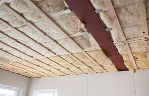 Comment Enduire Un Plafond : comment isoler un plafond prix isolation ~ Mglfilm.com Idées de Décoration