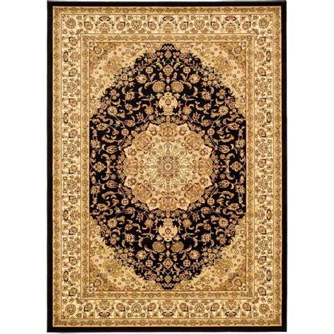black and ivory area rugs safavieh lyndhurst black ivory 8 ft x 11 ft area rug 7836