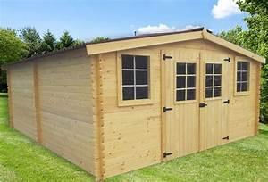 Prix Garage Parpaing 20m2 : abri de jardin en bois bayonne 4x5 m bouvara ~ Dailycaller-alerts.com Idées de Décoration