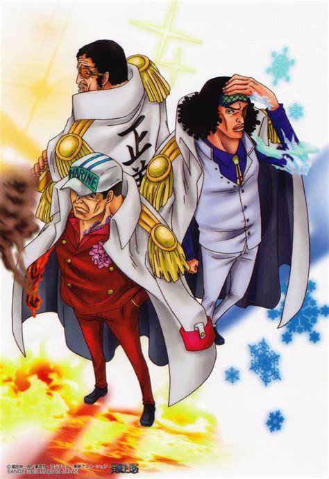 akainu aokiji piece kizaru anime pirate