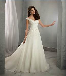 New off the shoulder wedding dresses 2016 ivory sweetheart for Wedding dress online store