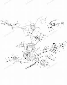 Polaris Atv 2001 Oem Parts Diagram For Engine Mounting