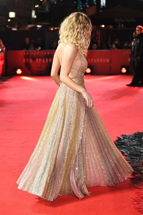jennifer lawrence red sparrow premiere  london