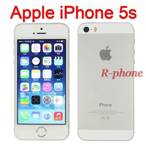 buy used iphone 5s aliexpress buy original iphone 5s mobile phone dual