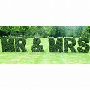 boxwood topiary letters artificial plants and trees With topiary letters