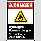 Danger Flammable Sign | 434 x 600 png 9kB