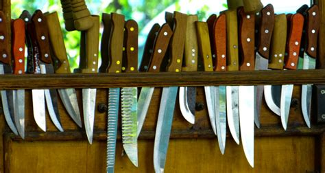 easy   pack kitchen knives  camping