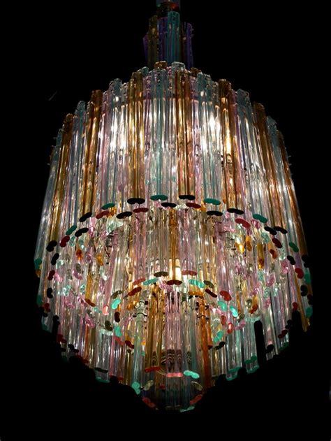 seguso chandelier multi colored chandelier by seguso todd merrill studio