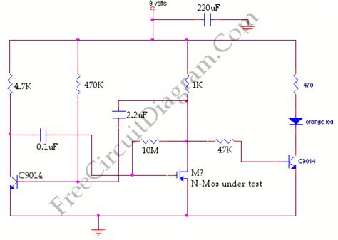 Mosfet Tester Circuit Diagram World