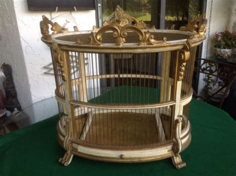 Antique Vintage Bird Cage Antique Road Signs Bombe Chest Ceiling Tin Picture Frames Nyc Blown Glass Vases Italian Bedroom Furniture Nearest Shop Brass Beds Value