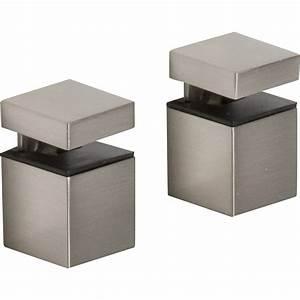 Equerre Etagere Bois : equerre pince clip acier inox l 2 3 x l 4 1 cm leroy merlin ~ Premium-room.com Idées de Décoration
