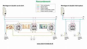 Eclairage Sans Branchement Electrique : montage double va et vient schneider sch mas lectriques ~ Melissatoandfro.com Idées de Décoration