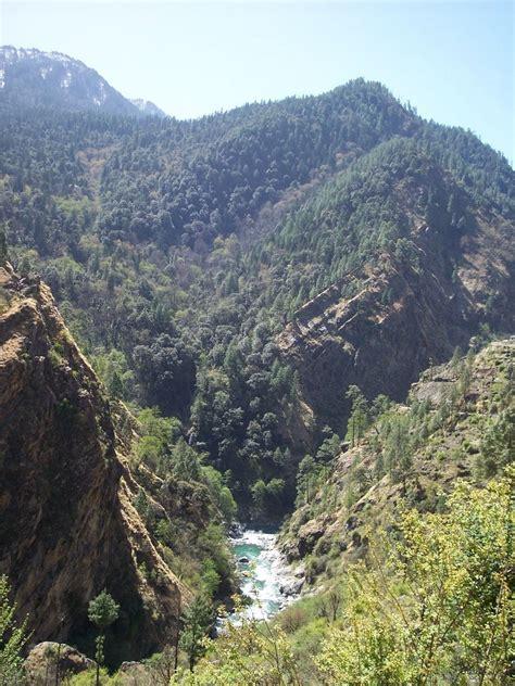 ladari a bmc at nim uttarkashi india the hill walk on ladari