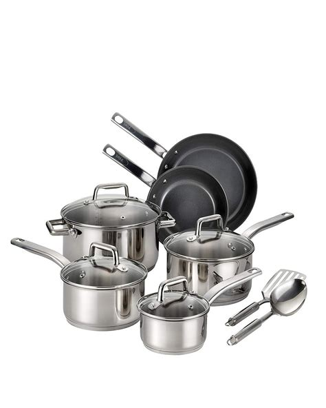 ceramic cookware fal sets piece kitchen pans pots cooking rated experts according precision gh light