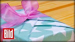 Geschenke Richtig Verpacken : kimono geschenke richtig verpacken youtube ~ Markanthonyermac.com Haus und Dekorationen