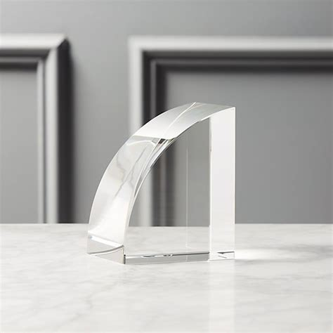 crystal glass bookend reviews cb