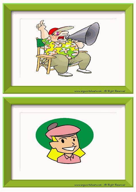 action verbs esl printable english flash cards worksheets