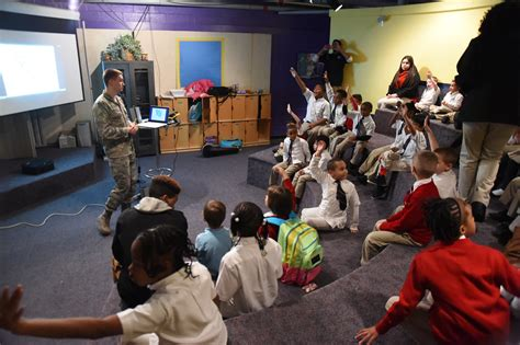 youth center hosts mlk educational event joint base