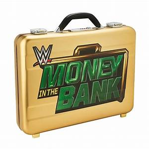 Wwe Money In The Bank Deluxe Replica Briefcase