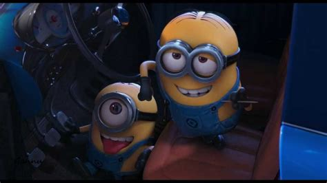 Minions Driving Car.....despicable Me 2