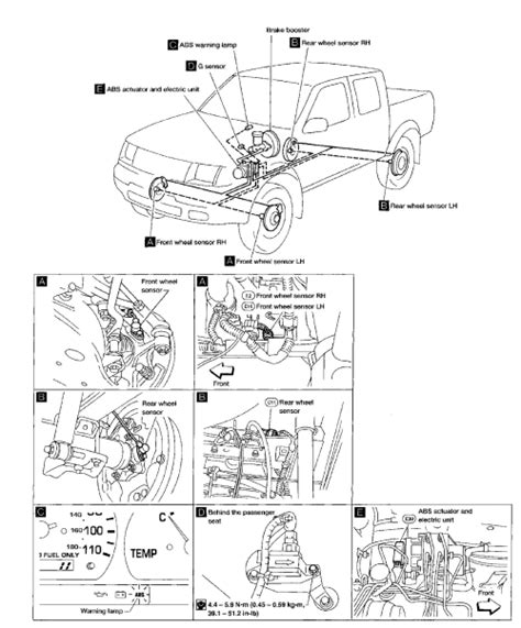 Nissan Frontier Engine Wiring Diagram by 2001 Nissan Xterra Undercarriage Diagram 1 Wiring