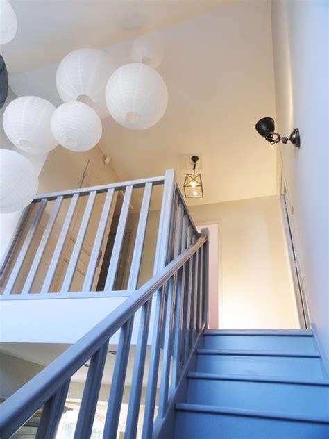 cuisine dans maison ancienne rénovation d 39 une cage d 39 escalier contemporain escalier
