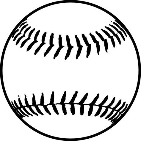 black softball clip art  clkercom vector clip art