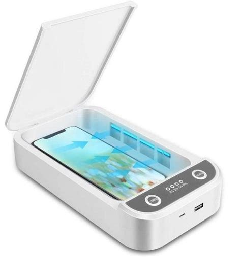 Phone UV-C Light Sanitizer Soap - Phone Disinfector