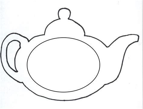 teapot template teapot coloring page clipart best
