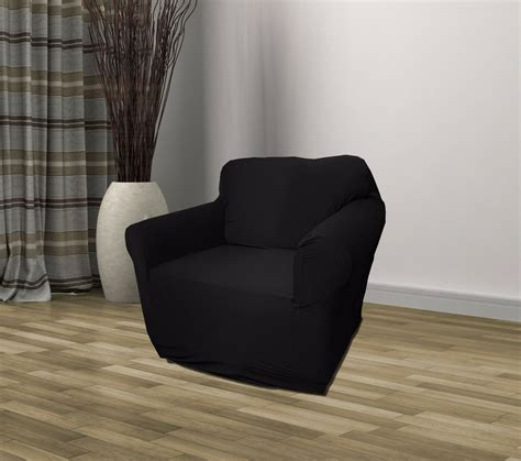 Recliner Loveseat Cover by Black Jersey Sofa Stretch Slipcover Cover Chair