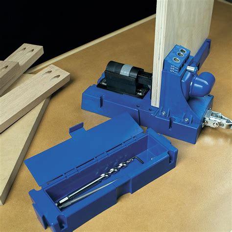 kreg jig  advanced features  building  wood