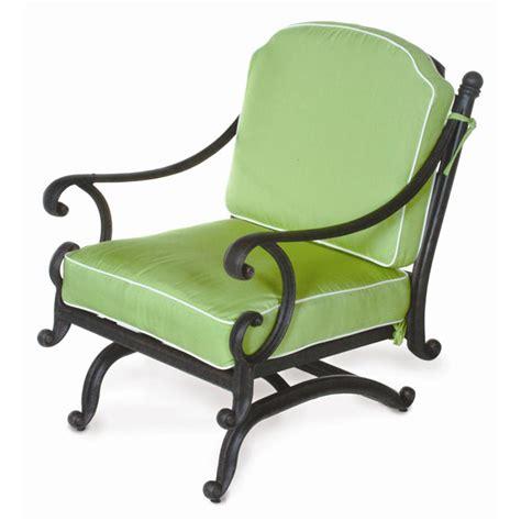 athena rocking patio club chair