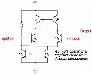 Operational amplifier models operational amplifiers for Circuit was based on a single operational amplifier integrated circuit