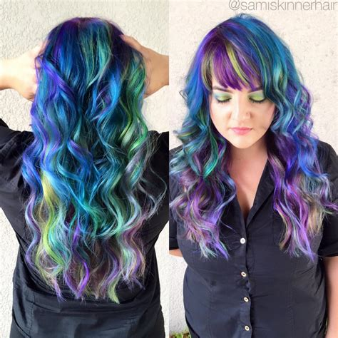 Magical Multi Colored Hair Rio Hair Studio