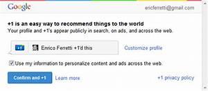 Google +1il pulsante mi piace di Google in risposta a