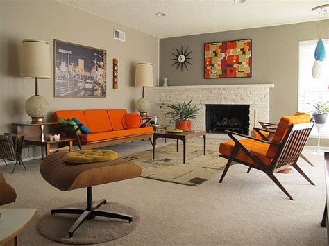 Retro Livingroom by 41 Modern Retro Living Room Home Design Trends That
