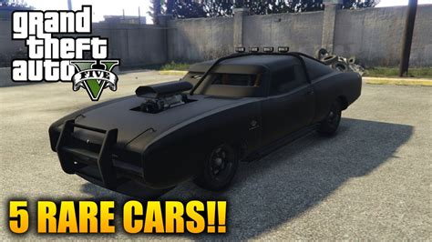 gta  rare cars  rare secret vehicles  gta