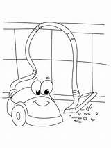 Vacuum Coloring Cleaner Cleaning Robot Kindergarten Staubsauger Preschool Worksheets Ausmalbilder Electronics Malvorlagen Colorear Zum Kinder Printables Preschoolactivities sketch template