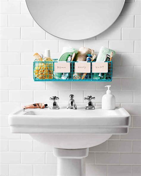 bathroom organization ideas bathroom organization tips martha stewart