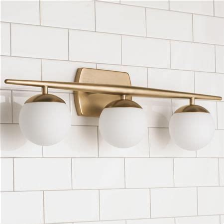 Linear Bathroom Lighting by Linear Globe Bath Light 3 Light In 2019 Lighting Wall