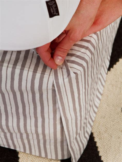 bed skirt pins and easy bed skirt hgtv
