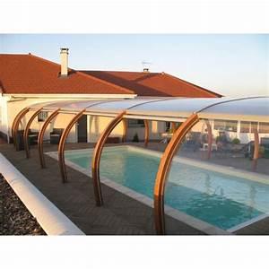 Abri Haut Piscine : abri de piscine haut en bois accol la maison ~ Premium-room.com Idées de Décoration