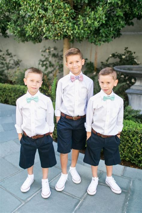25+ best ideas about Boys wedding outfits on Pinterest | Ring boy Ring bearer suspenders and ...