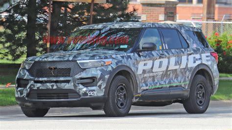 ford explorer police interceptor hybrid revealed