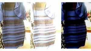 robe bleue ou blanc et or ceux qui la voient blanche ont With robe bleu et noir illusion