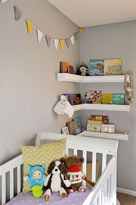 Nursery Shelves For Corner Kiddos Incoming Pinterest