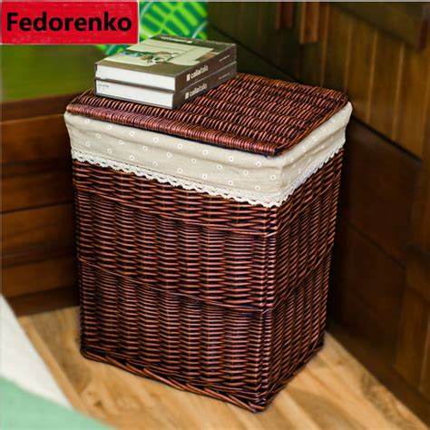 Closet Organizer Baskets by Laundry Storage Baskets Wicker Closet Organizer For