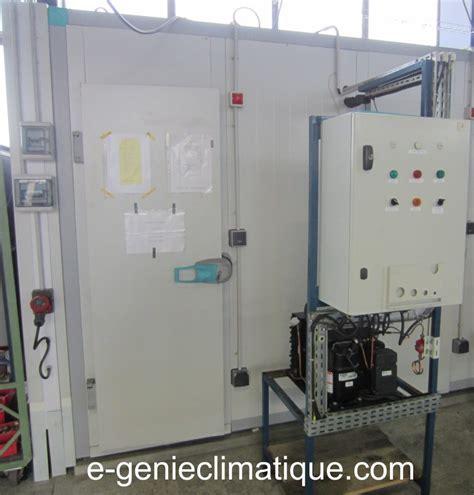 fonctionnement chambre froide froid01 le circuit frigorifique de base dans une chambre