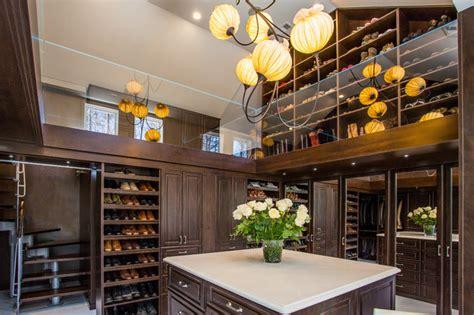 luxury  story master closet traditional closet